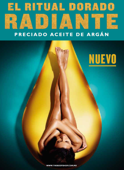 Conoce el Ritual Dorado de The Body Shop