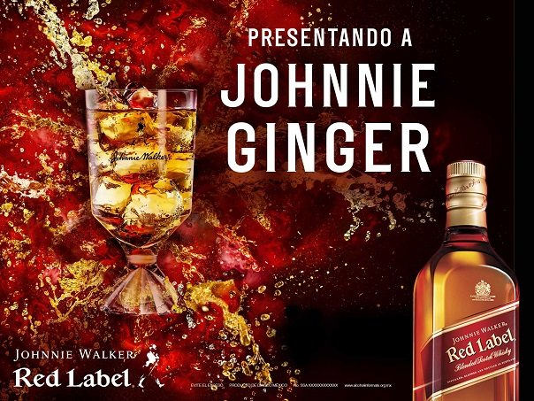 "Johnnie Walker® Red Label® presenta el lanzamiento de ""Johnnie Ginger"