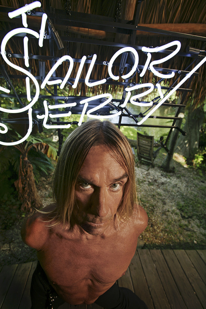 The Flash Collection by Iggy Pop de Sailor Jerry Clothing