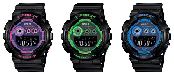 Déjate ver con G-Shock Face color digital