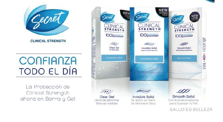 Regalos de Navidad Secret Clinical Strenght