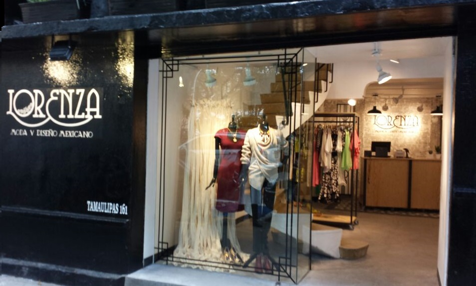 Boutique lorenza moda y dise o mexicano en la condesa for Disenos de interiores para boutique
