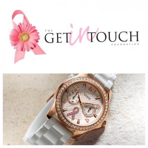 Mes Rosa con relojes Guess