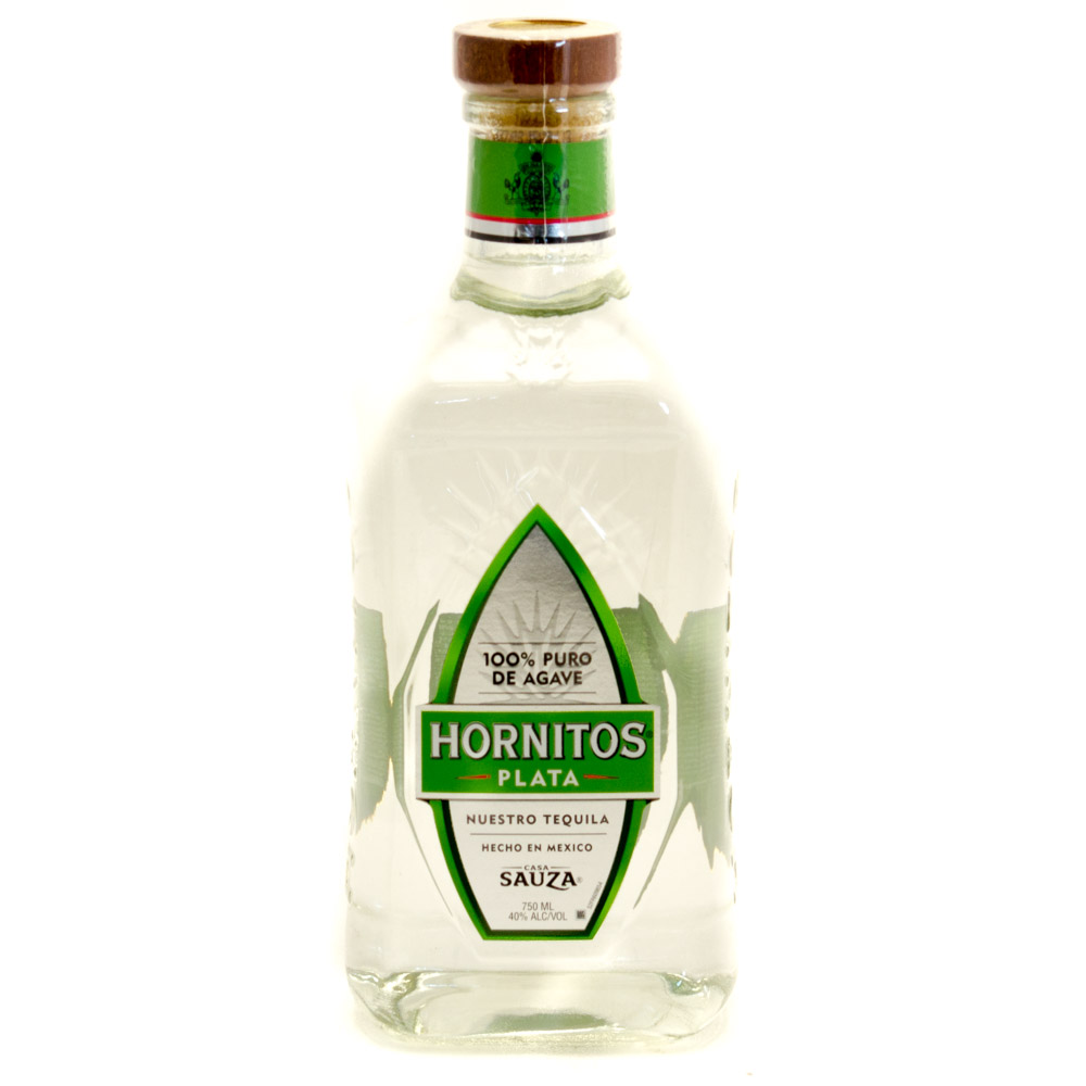Hornitos Plata 100% Puro de Agave Casa Sauza 40% Alc/Vol 750ml