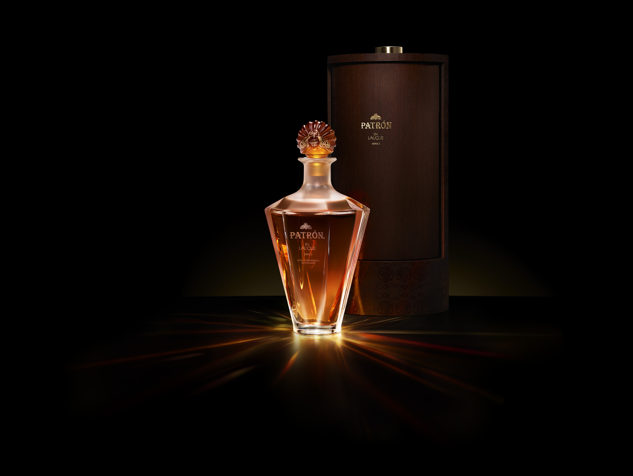 """Patron Lalique Brochure Photography Shoot; PRN1-TEQ-17-00126; Lalique; Bottle and Box; 5/9/17; Kenji Toma; Yoni Ben-Yosef, yoni@cartelandco.com; """"Quixote Studios - Studio 3 ; 1011 N. Fuller Ave. West Hollywood, CA 90046"""" Usage for 3 hero shots including all outtakes and any variations the unlimited exclusive rights for all media (excluding broadcast), worldwide, in perpetuity, for Patron Spirits Co. and its subsidiaries. Art Usage Expiration - N/A; MullenLowe; Lauren Malizia; Cartel & Co"""