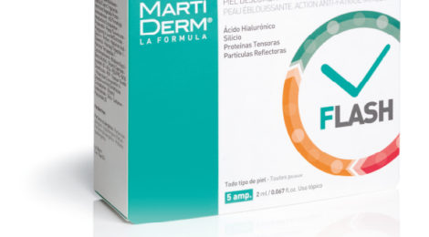 Ampolletas Flash Antifatiga de Martiderm